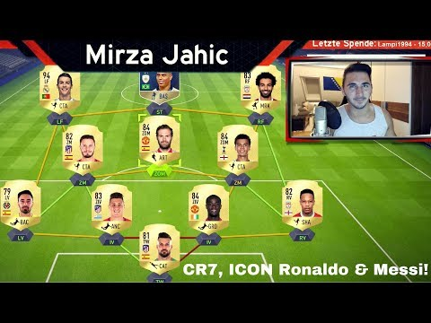 CR7, ICON RONALDO & MESSI IN ONE TEAM! | FUT DRAFT FINALSPIEL + PACKS | FIFA 18 ULTIMATE TEAM