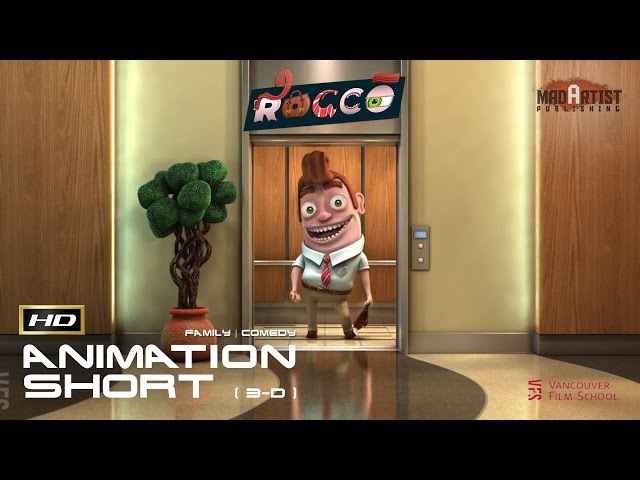 ROCCO | Funny CGI Short film about being stuck in elevator (Juaner Franzius / VFS)