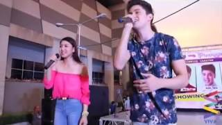 Repeat youtube video James Reid & Nadine Lustre performing No Erase Live at SM City Iloilo (April 12, 2014)