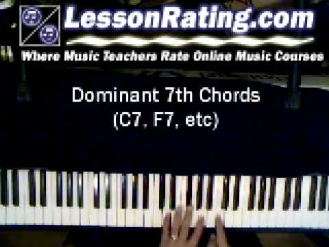 7th Chords on Piano - YouTube