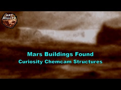 nouvel ordre mondial | Mars Buildings Found - Curiosity Chemcam Structures 2018