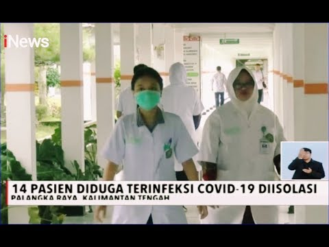 14 Pasien Terduga Korona Di Palangka Raya Telah Diisolasi - INews Siang 18/03