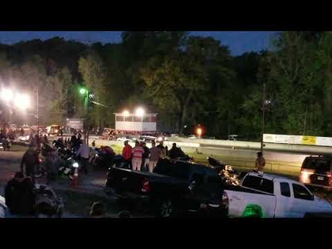 Buick Roadmaster run at Greer Dragsway