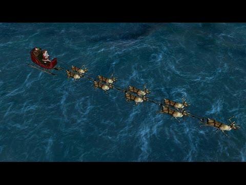 Norad tracks Santa on Christmas Eve live streaming and music