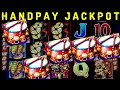 🍀HANDPAY JACKPOT🍀 on Dancing Drums Slot Machine | MASSIVE WIN | Max Bet | Wheel Of Fortune Bonuses