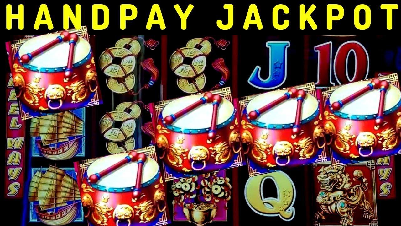 Handpay Jackpot🍀 On Dancing Drums Slot Machine Massive