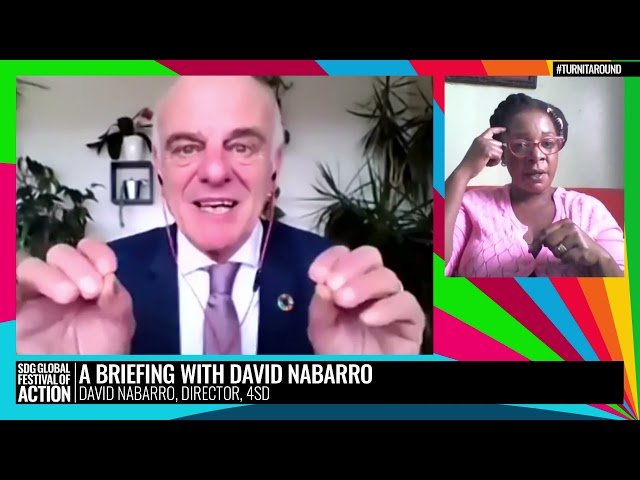 A Briefing with David Nabarro