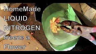 DIY LIQUID NITROGEN Poor Man's Liquid Nitrogen Bill Beaty's concept