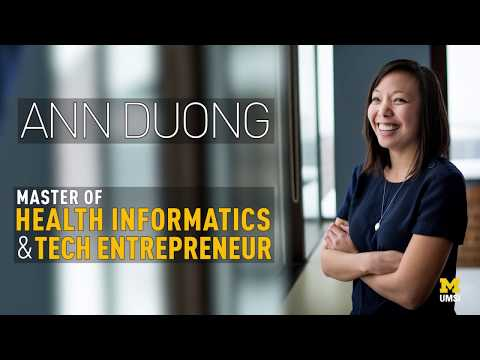 Ann Duong: Master of Health Informatics and Tech Entrepreneur