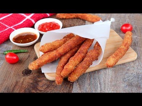 চিকেন ফ্রেঞ্চ ফ্রাইস | Chicken French Fries | Chicken French Fry Recipe Bangla | Chicken Fries