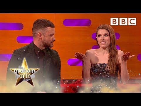Anna Kendrick's British accent obsession!   The Graham Norton Show - BBC
