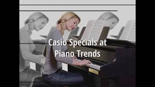 Casio at Piano Trends Music