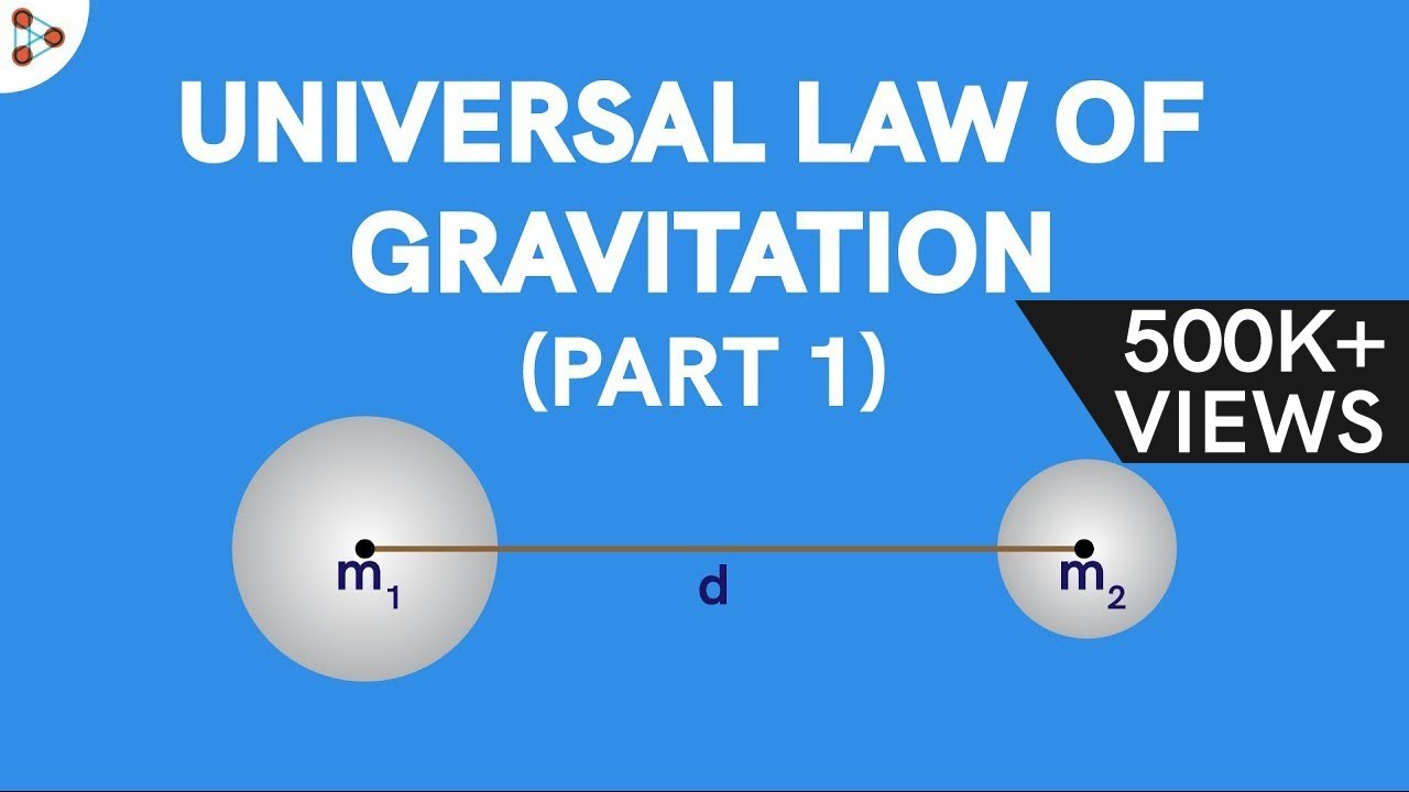 Physics - Universal Law of Gravitation – Part 1