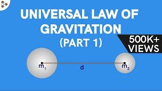 Physics - Universal Law of Gravitation – Part 1