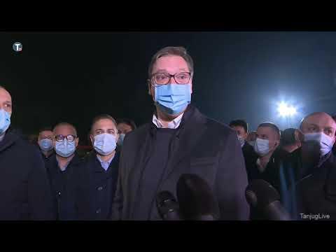 Uživo - Predsednik Srbije obilazi radnike na gradilištu nove kovid bolnice VALLOMÁS: Vučić szerint Szerbiának jobb lett volna Trumppal, és nehezebb lesz Bidendel, de nem nyal be neki VALLOMÁS: Vučić szerint Szerbiának jobb lett volna Trumppal, és nehezebb lesz Bidendel, de nem nyal be neki hqdefault