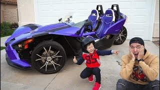 Funny Baby Unboxing And Assembling The POWER Wheel Ride on Tractor  # 67