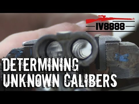 Determining Unknown Calibers with Cerrosafe