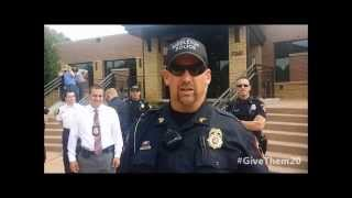 Middleton Police #GiveThem20