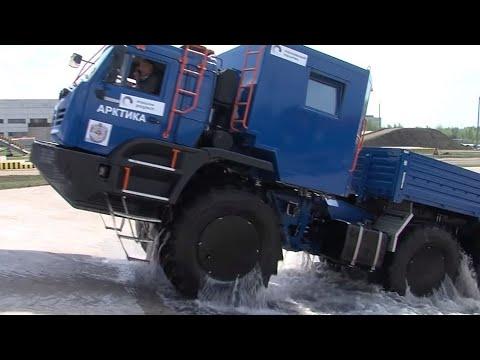 КАМАЗ-Арктика 6x6. Технические