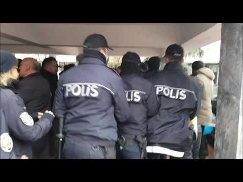 KTÜ'de ring isteyen üniversitelilere polis saldırdı