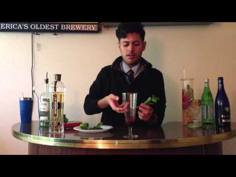 Two amazing St.Germain Cocktails (Mojito Paris, The St.Germaine)