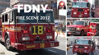 Fire Trucks: FDNY Transformer Explosion (2012)