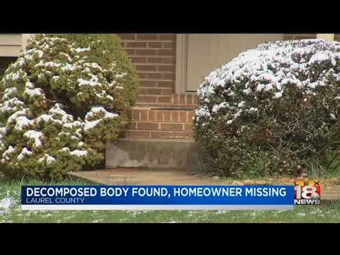 Decomposed Body Found, Homeowner Missing