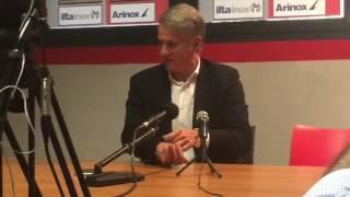 Cremonese-Venezia, intervista a mister Tesser