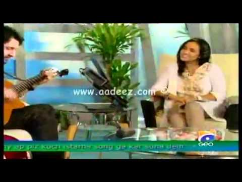 Atif Aslam - Nadia Khan Show Meri Khani Live