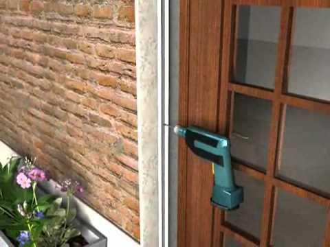 De pliss hordeur horren van doovi - Comment installer une porte moustiquaire ...