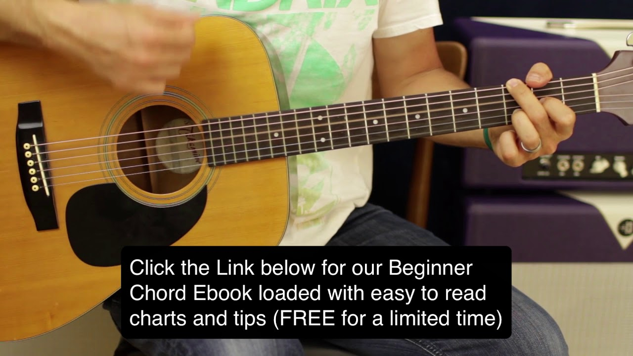 Keith Urban Acoustic Guitar Riff And Country Strumming Lesson 4