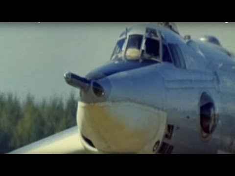 Myasishchev M-4/3M. Soviet strategic bomber.