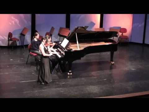 J.Brahms - Scherzo at Aurora Chamber Music Festival