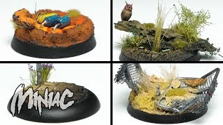 Four EASY Bases For Your Minis!