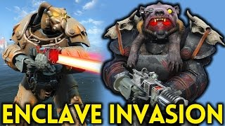 Fallout 4 ENCLAVE INVASION - Gameplay Ep. 16