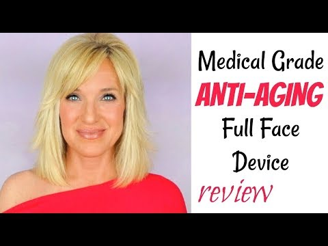 anti-aging-red-light-led-therapy-before-&-after-photos!-medical-grade-anti-aging-device-review