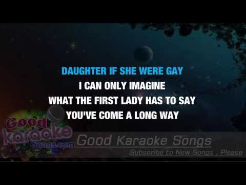 Dear Mr  President - 4 Non Blondes ( Karaoke Lyrics )