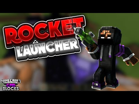 ✓ How To Make A Rocket Launcher In MCPE!   Command Blocks