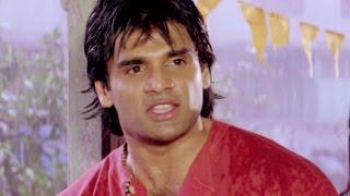 Sunil Shetty, Anjana Mumtaz, Balwaan - Scene 14/24