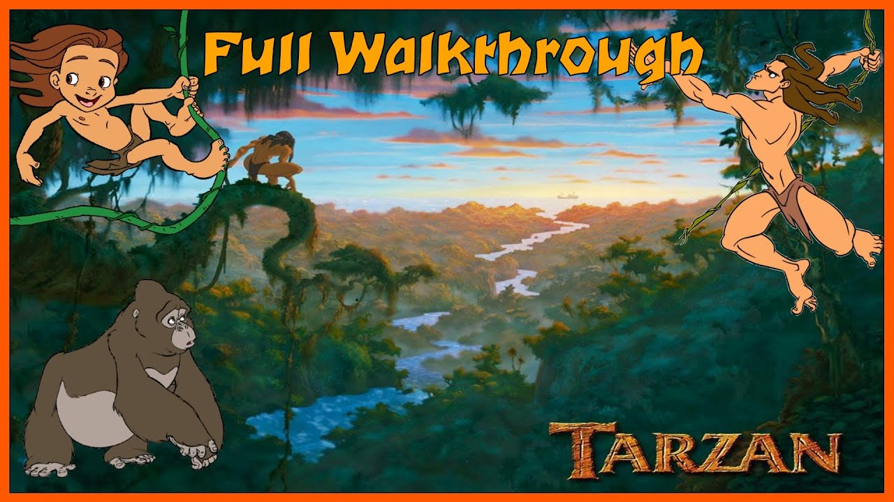 Disney S Tarzan Action Game Full 100 Walkthrough 1