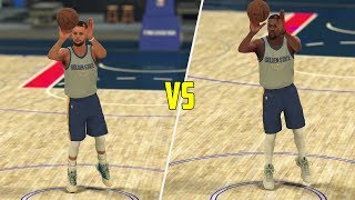 NBA 2K18 Stephen Curry vs Kevin Durant Half Court Contest! NBA 2K18 Challenge!