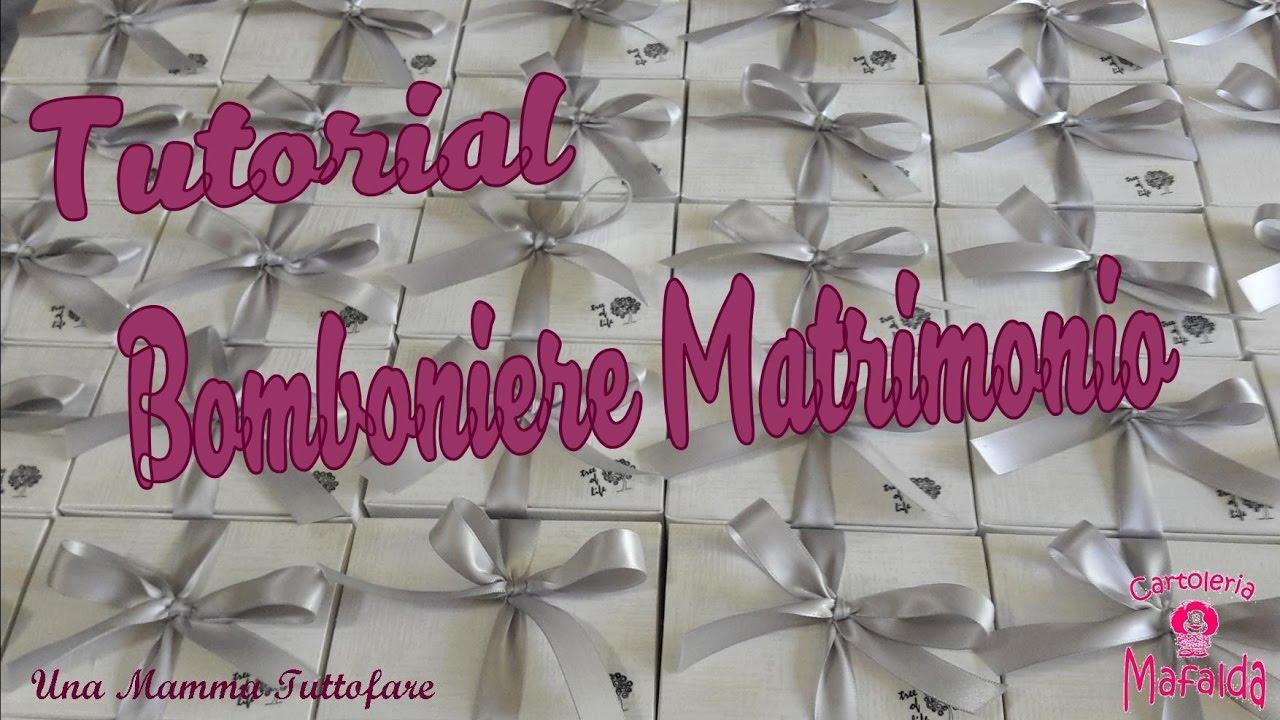 Bomboniere Matrimonio Tutorial.Tutorial Bomboniere Matrimonio Youtube