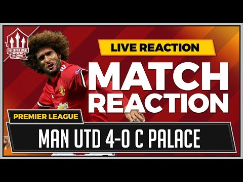 Fellaini Goals Silence Goldbridge! Manchester United 4-0 Crystal Palace