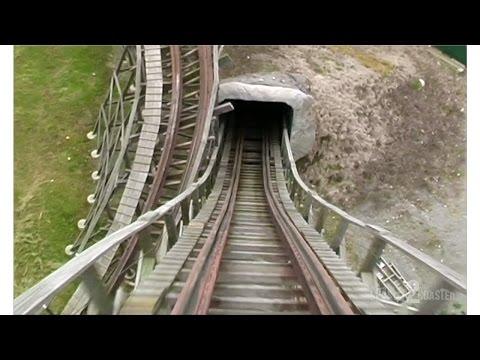 Tremors Coaster POV - Silverwood Theme Park - Athol, Idaho, USA