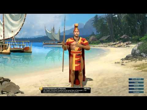 Civilization V OST | Kamehameha Peace Theme | Hole Waimea