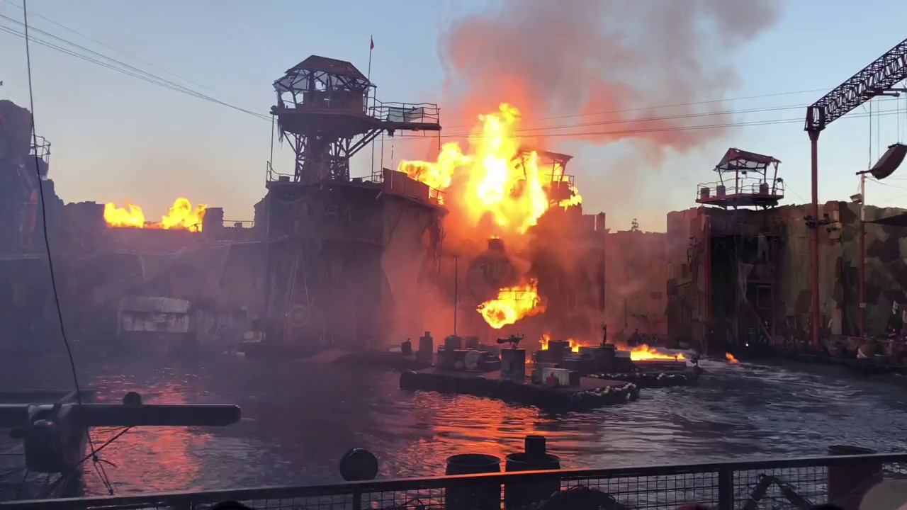 Download Waterworld full show 2018 Universal Studios Hollywood