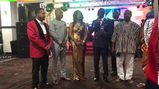 Captain smart proposes to new 'wife' during award show in USA