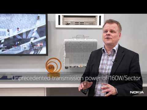 Nokia 3.5GHz TD-LTE-Advanced 8-pipe radio