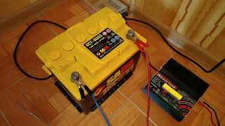 SADA аккумулятор ,тест на ёмкость.