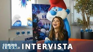 I Puffi: Viaggio nella foresta segreta - Intervista esclusiva di Coming Soon a Cristina D'Avena